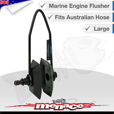 AU9.99 • Buy LARGE Outboard Motor Water FLUSHER Rectanglular Engine Ear Muffs Marine Boat