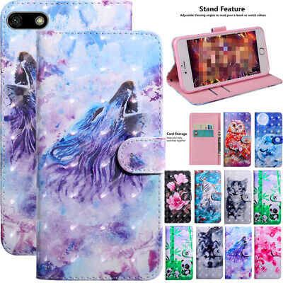 AU6.48 • Buy For Huawei Y6 Y7 2019 Y5 Prime 2018 Magnetic Leather Wallet Card Slot Case Cover