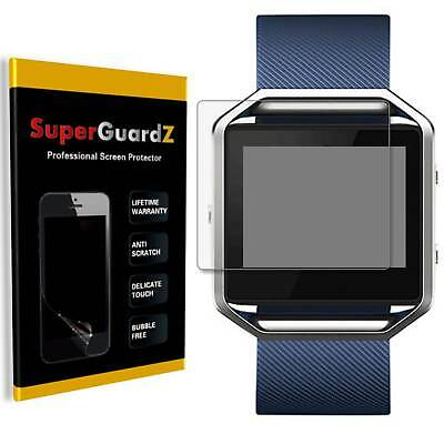 AU7.64 • Buy 8X SuperGuardZ Clear Screen Protector Guard Shield Film Saver For Fitbit Blaze