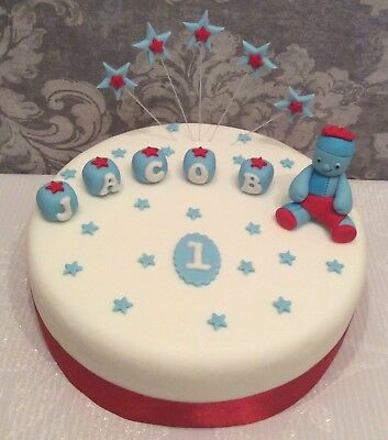 In The Style Of In The Night Garden Cake Topper - Unofficial - Iggle Piggle • 13.99£