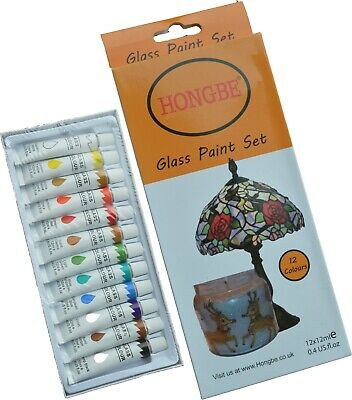 £7.79 • Buy Glass Paints 12ml Transparent Stained Glass