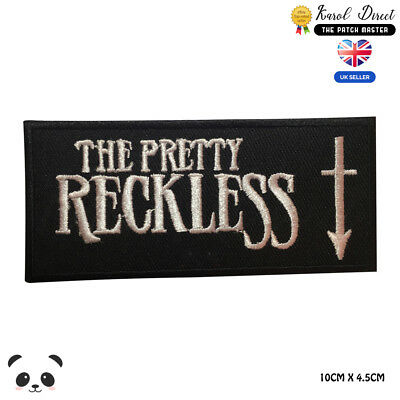 £1.99 • Buy The Pretty Reckless Music Band Embroidered Iron On Sew On PatchBadge