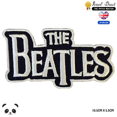 £1.99 • Buy The Beatles Music Band Embroidered Iron On Sew On PatchBadge For Clothes Etc