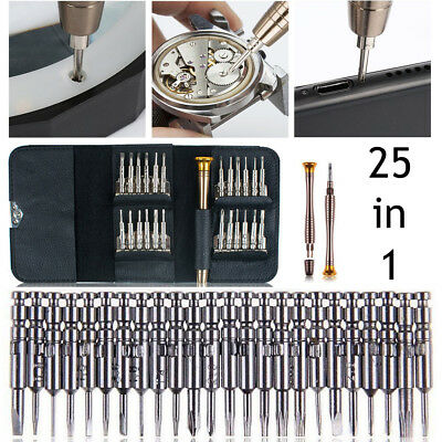 View Details 25 In 1 Precision Torx Screwdriver Set Cell Phone Repair Tool Kit IPhone Laptop • 5.98$