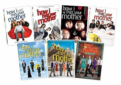 $39.99 • Buy  BRAND NEW DVD SETS How I Met Your Mother Complete Season 1-7 1234567