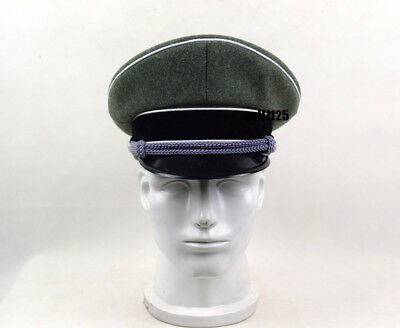Collectable WWII German Elite Officer Hat Officer Army Cap 58 Cm  • 18.50£