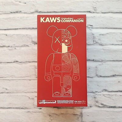 $1999.99 • Buy New 2009 Bearbrick Kaws Dissected Companion 400% Kubrick Japan OriginalFake