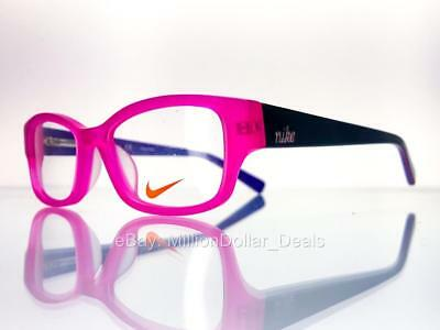 4b0dd0b3ed Nike Girl s Rx Prescription Eye Glasses Frames 5527 Pink Purple - 46-15-
