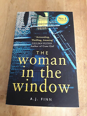 AU8 • Buy The Woman In The Window By A J Finn  NEW