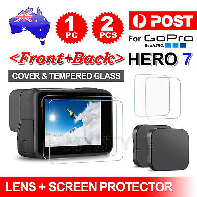 AU6.95 • Buy Protector Cover Lens Cap For GoPro Hero 7 6 Black Action Camera Accessories