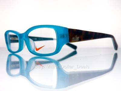 fe4c3d709e Nike Girl s Rx Prescription Eye Glasses Frames - 5526 - Teal - 45-15-