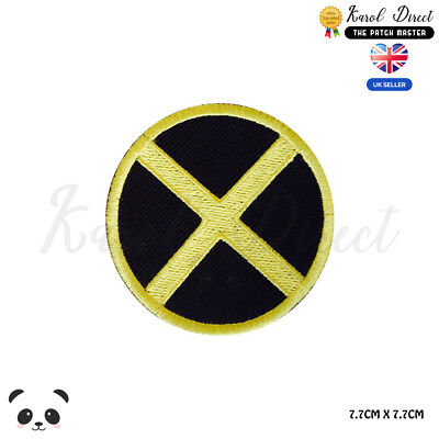 £1.99 • Buy X Men Super Hero Movie Embroidered Iron On Sew On PatchBadge For Clothes Etc