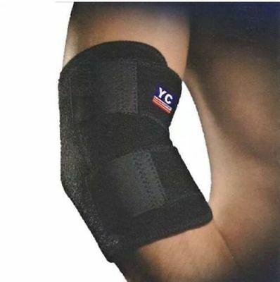 Tennis Support Brace SIR Clasp Golfers Strap Epicondylitis Arthritis Band Elbow  • 3.19£