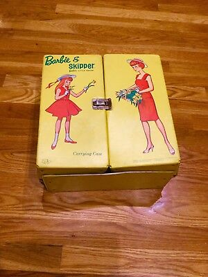 $ CDN40.73 • Buy Vintage Barbie And Skipper Vinyl Carrying Case, 1964, Mattel