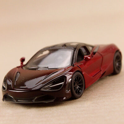 AU24 • Buy 2018 McLaren MSO 720S Two Tone Red 1:36 12.5cm Gull Wing Die Cast Pull Back Open