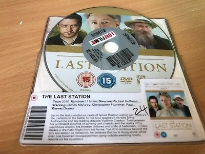 The Last Station (DVD, 2010) Christopher Plummer, Helen Mirren DISC ONLY • 1.65£