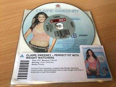 Claire Sweeney - Perfect Fit With Weight Watchers (DVD, 2007) DISC ONLY • 1.65£