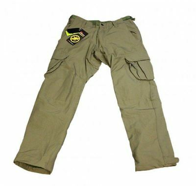 Korda Polar Kombats - Dark Olive Fleece Lined Carp Fishing Trousers - All Sizes • 58.22£