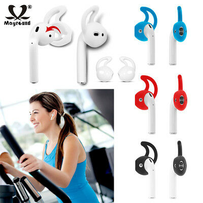 AU2.54 • Buy 1/3/5 Pairs Sports Ear Hooks Silicone Earbud Cover For Apple AirPods Earphones