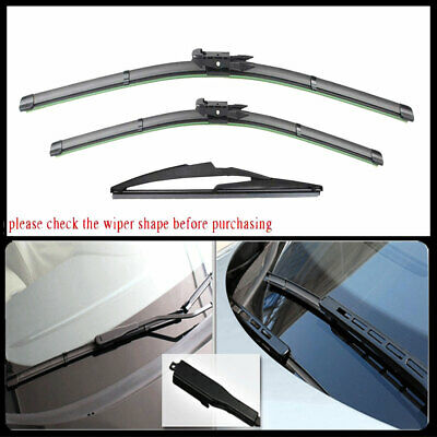Front Window Wiper Blades For Mercedes Benz GL450 2007-2012 ML350 2006- 2011 NEW • 15.68$