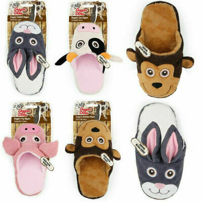 All For Paws Dog Toys Doggie Slipper Soft Plush Shoe Squeaky Fetch Throw Play • 7.99£