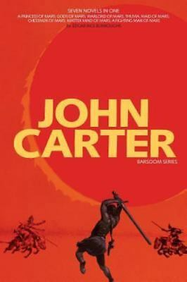 John Carter: Barsoom Series (7 Novels) A Princess Of Mars; Gods Of Mars; Warlord • 18$