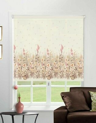 £81 • Buy  Made To Measure Patterned Dim-out Complete Roller Blind - Morning Harvest