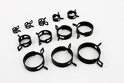 £1.20 • Buy Self Clamping Spring Hose Clips Carbon Steel Clamps Sealing Radiator Heater OEM