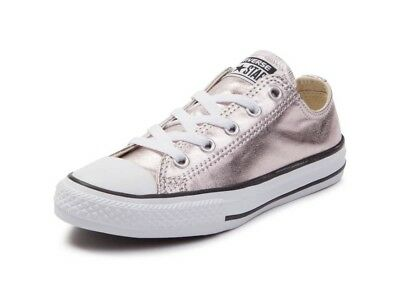498bc07b46fe00 Converse Chuck Taylor All Star Low Top Rose Metallic Shoes Sz 6 • 52.00