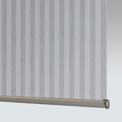 £33 • Buy Made To Measure Patterned Dim-out Complete Roller Blind - Strata Iron (ASC)