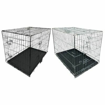 £47.99 • Buy Hugglepets Dog Cage Puppy Training Crate Pet Carrier - Small Medium Large Xl Xxl