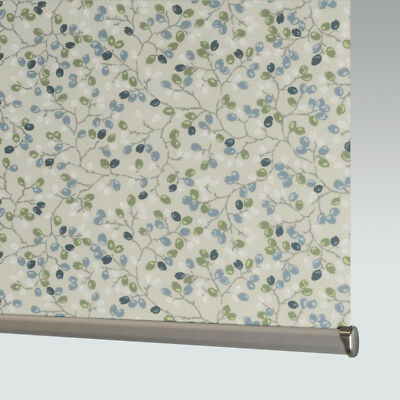 Made To Measure Patterned Dim-out Complete Roller Blind - Flourish Spring • 33£