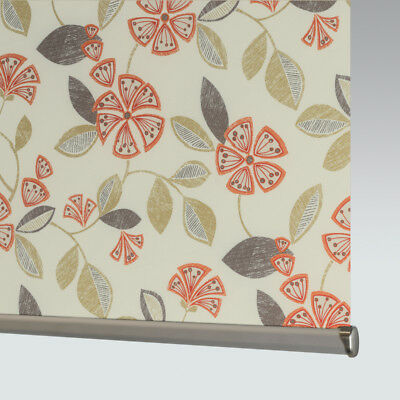 £81 • Buy Made To Measure Patterned Dim-out Complete Roller Blind - Flair Mandarin