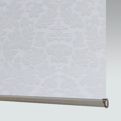 £33 • Buy Made To Measure Patterned Dim-out Complete Roller Blind - Clara Snowdrop