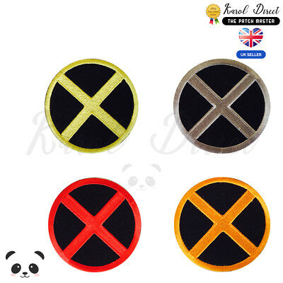 £1.99 • Buy X Men Super Hero Movie Embroidered Iron On /Sew On Patch Badge For Clothes Etc