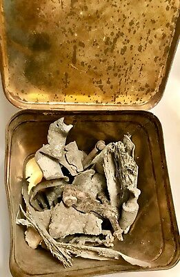 £89.48 • Buy Wwii Aircraft Crash Relics In Storage Can From Uk