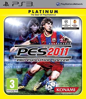 AU8.80 • Buy Pro Evolution Soccer 2011 PlayStation 3 PS3 Brand New