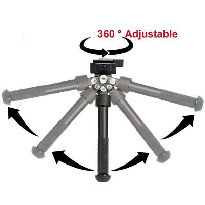 Tactical Aluminum 6.5 - 9 Inch Adjustable Bipod Pan Tilt Hunting Atlas Bipod • 34.95$