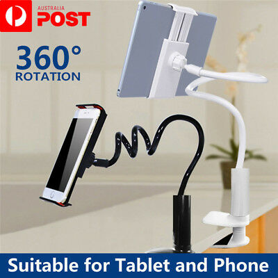 AU13.95 • Buy 360°Rotating Tablet Stand Holder Lazy Bed Desk Mount IPad Air IPhone Samsung OZ