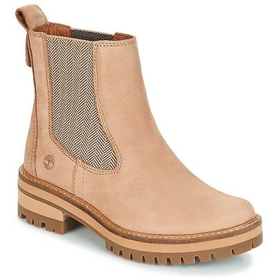 1a3453e10c3bec Stivaletti Donna Timberland Courmayeur Valley Chelsea Rosa Rosa Cuoio  7468465 • 195.99€