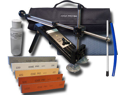 $225 • Buy Edge Pro Apex Knife Sharpener Kit 3 W/ Carrying Case Precise Hand Sharpening New