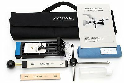 $165 • Buy Edge Pro Apex Knife Sharpener Kit 1 W/ Carrying Case Precise Hand Sharpening New