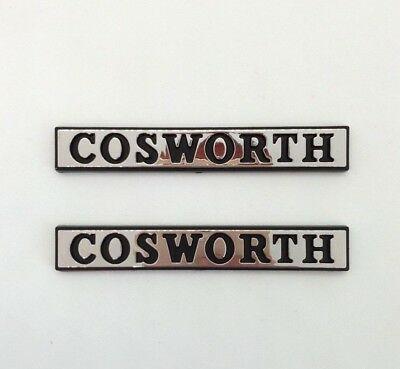 £21.35 • Buy ⭐🇫🇷 NEUF X2 MONOGRAMMES COSWORTH AILES FORD SIERRA RS 4x4 SAPPHIRE LOGO BADGE