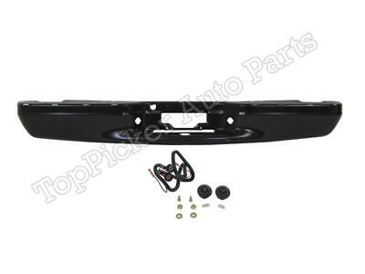 $238.42 • Buy Rear Bumper Face Bar Black License Lamps For 97-03 F150 Harley Davidson SVT