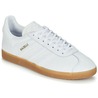 low priced 6c790 dabb3 Sneakers Scarpe Donna Adidas GAZELLE Bianco Bianco Cuoio 12117667 • 108.99€