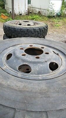 $1995 • Buy Lot Of 18 Military Deuce 2.5 Ton 6 Lug Tires And Wheels 11.00r20 Tire 1100R20