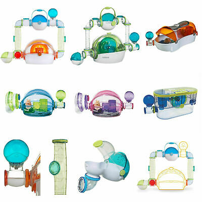 Hamster Cages Habitats Habitrail OVO Suite Twist Dwarf Loft Home & Add-Ons • 9.99£