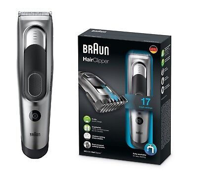 View Details Braun HC5090 Cordless & Rechargeable Hair Trimmer Clipper 17 Lengths • 36.99$