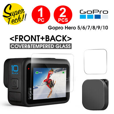 AU8.69 • Buy Screen Protector Cover Lens Cap For GoPro Hero 8 Black 7 6 5 Camera Accessories