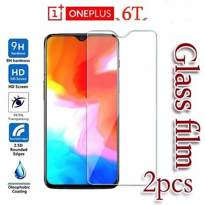 AU4.26 • Buy For OnePlus 6T 6 5 5T 3 3T 2 9H Premium Tempered Glass Film Screen Protector